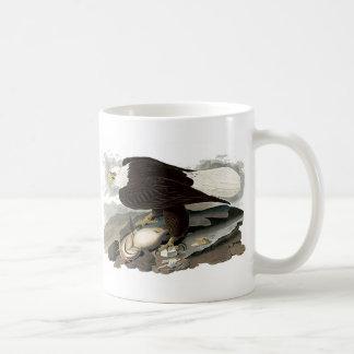 Wit Geleid Eagle | John James Audubon Koffiemok