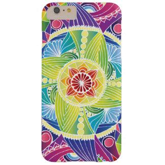 (Wit) iPhonehoesje van Mandala van de regenboog Barely There iPhone 6 Plus Hoesje