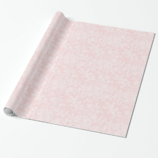 Wit Kant op het Roze Verpakkende Document van de Cadeaupapier
