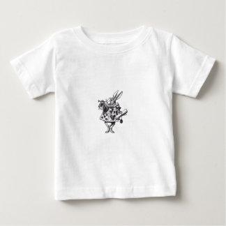 Wit Konijn Baby T Shirts