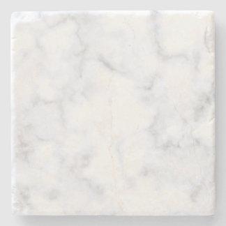 Wit Marmer Stenen Onderzetter