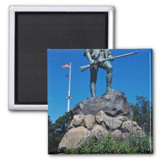 Wit Minuteman Standbeeld, Lexington, Magneet