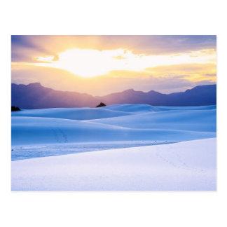 Wit Nationaal Monument 3 van het Zand Briefkaart