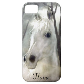Wit Paard Barely There iPhone 5 Hoesje