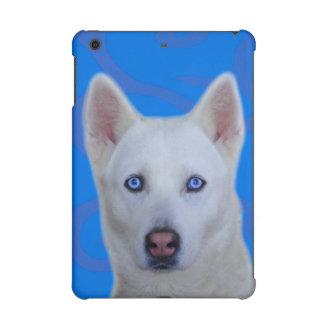 Wit Siberisch Schor Hoesje Mini 2 & 3 van iPad