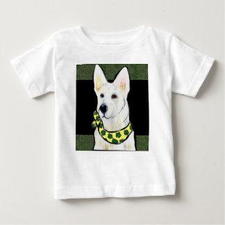 Wit St. van de Duitse herder Pasteitje Baby T Shirts