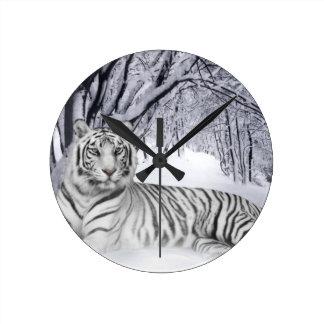 wit+tijger+giften ronde klok