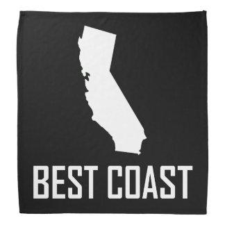Wit van Californië van de Kust van het westen het Bandana