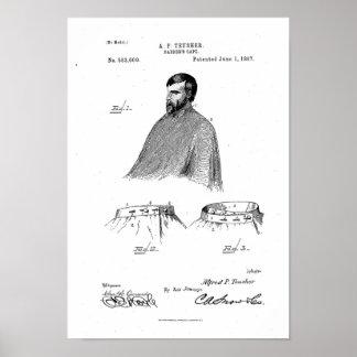 Wit van het Poster van het Octrooi van de Kaap van