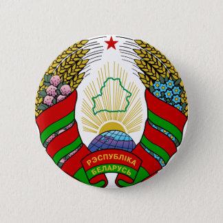 Witrussisch embleem ronde button 5,7 cm