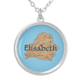 Witrussische Kaart + Het Ketting van de naam