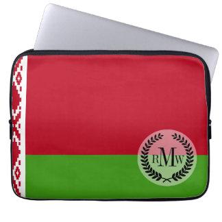 Witrussische Vlag Computer Sleeve
