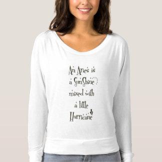Witte BasisT-shirt voor de Vrouwen van de Ram Longsleeve