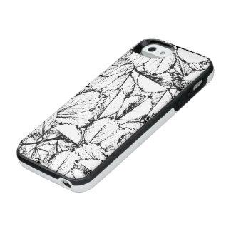 Witte Bladeren iPhone SE/5/5s Batterij Hoesje