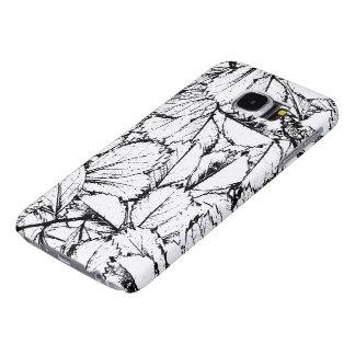 Witte Bladeren Samsung Galaxy S6 Hoesje