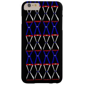 Witte Blauwe Ebbehouten iPhone 6/6s plus Hoesje