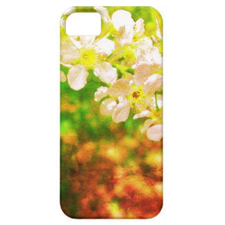 Witte bloemen iPhone5 Barely There iPhone 5 Hoesje