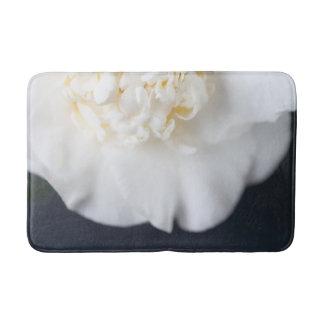 Witte cameliabloem badmat