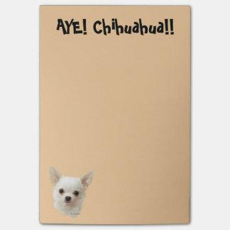Witte Chihuahua, Stem vóór Chihuahua Post-it® Notes