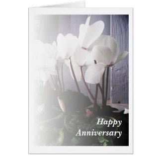 Witte Cyclaam Kaart