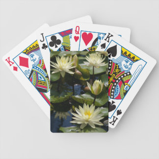 Witte de stootkussensspeelkaarten van de poker kaarten