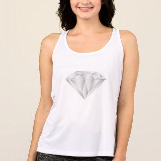 Witte Diamant voor mijn liefje Tanktop