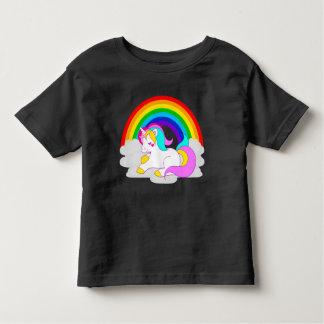 Witte Eenhoorn op Wolk met het T-shirt van de