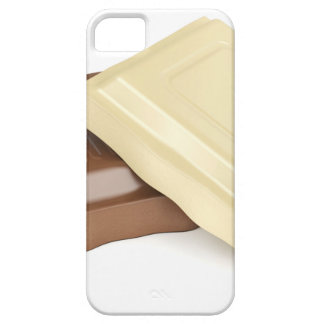 Witte en bruine chocolade barely there iPhone 5 hoesje