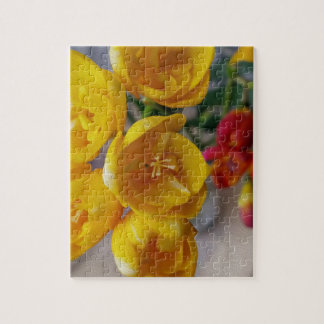 witte fresia foto puzzels