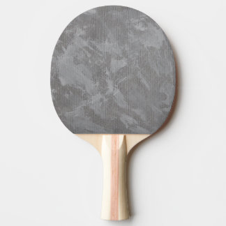 Witte Inkt op Zilveren Achtergrond Tafeltennis Bat