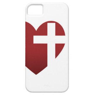 Witte iPhone 5 van de Kerk van de Redding Hoesje