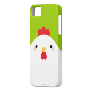 Witte iPhone 5 van de Kip Hoesje