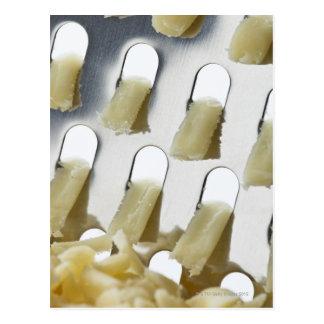 witte kaas, cheddar, roestvrije kaasrasp briefkaart