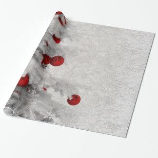 Witte Kerstmis Cadeaupapier
