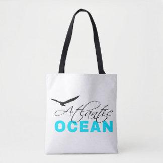 Witte Klantgericht van de Atlantische Oceaan Draagtas