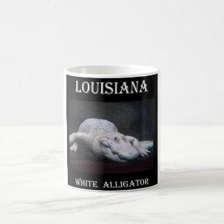 Witte Krokodille Nieuw van Louisiane Koffiemok
