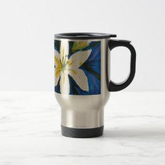Witte Lelie bij het Blauwe Collectie door Jane Reisbeker