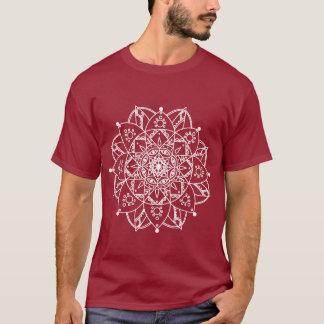 Witte Mandala T Shirt