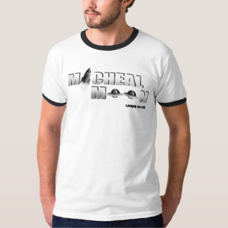Witte Micheal Moon's T Shirt
