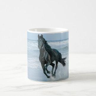 Witte Mug paard Koffiemok