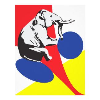 Witte olifantsverkoop flyer 21,6 x 27,9 cm
