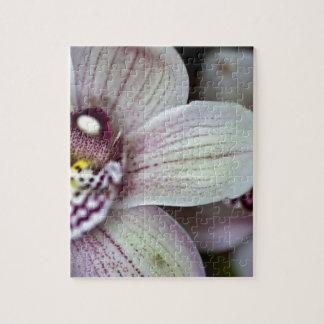 Witte Orchidee Legpuzzel