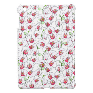 Witte orchideeën iPad mini covers