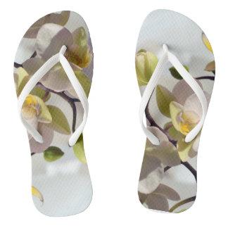 Witte Orchideeën Teenslippers