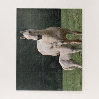 Witte Paarden Puzzel