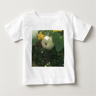 Witte pompoen baby t shirts