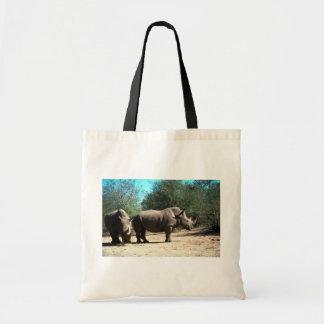 Witte Rinocerossen Draagtas