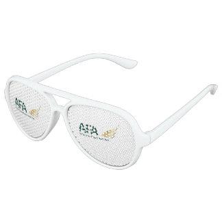 Witte Schaduwen van de Partij van de Vliegenier Feestbril