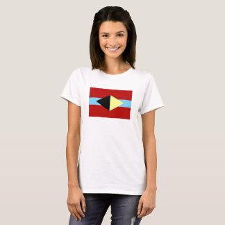 Witte t-shirt met het symbool van Albuquerque