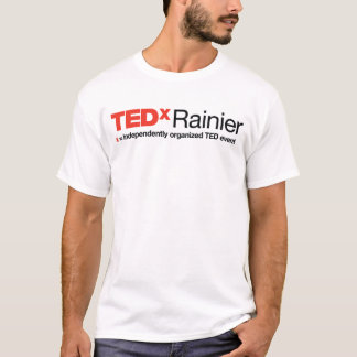 Witte T-shirt van het Mannen van TEDx de